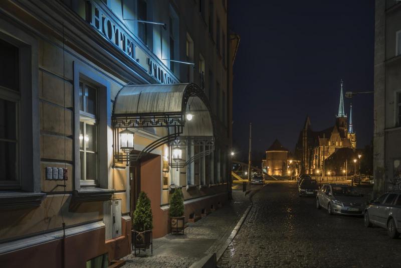 Hotel w centrum Wrocławia