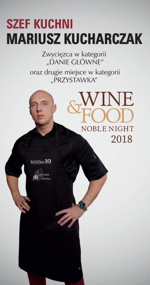 Mariusz Kucharczak Szef Kuchni Barki Tumskiej-Słodowej 10
